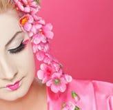 härlig geisha Royaltyfria Foton