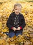 Härlig gladlynt flicka Royaltyfria Bilder