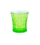 härlig glass green Arkivfoto