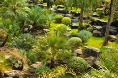 Härlig grön landskapdesign Royaltyfria Bilder