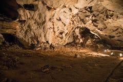 härlig grotta Arkivbilder