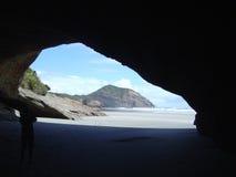 härlig grotta Fotografering för Bildbyråer