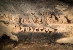 Härlig grotta i Bulgarien Arkivbild