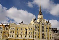 Härlig gul byggnad Royaltyfri Bild