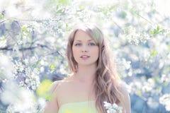 Härlig gullig flicka Royaltyfri Fotografi