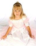 härlig gullig klänningflicka Royaltyfria Foton