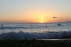 härlig havsikt Fotografering för Bildbyråer