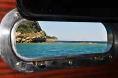 härlig havssikt Royaltyfria Bilder