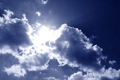 Härlig himmel Arkivfoto