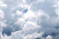 Härlig himmel Fotografering för Bildbyråer
