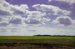 Härlig himmel Arkivbild