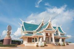 Härlig himmel för tempel Royaltyfria Bilder