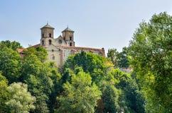 Härlig historisk kloster Arkivfoton
