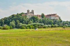 Härlig historisk kloster Arkivbilder
