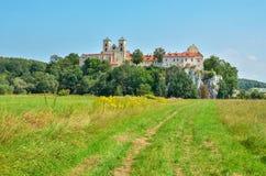 Härlig historisk kloster Arkivfoto