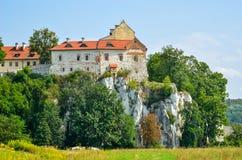 Härlig historisk kloster Royaltyfri Fotografi
