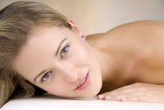härlig hud Fotografering för Bildbyråer