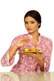 härlig indisk lady Royaltyfri Bild