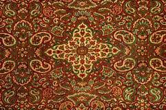 härlig invecklad persisk filt royaltyfria foton