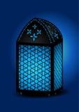 härlig islamisk lykta royaltyfri illustrationer