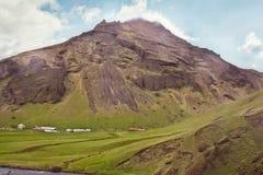 Härlig Island liggande. Arkivbilder