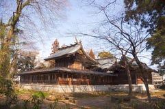 Härlig japansk tempel royaltyfri foto