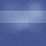 Härlig jeanstextur för vektor Arkivbild