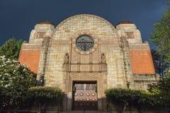 Härlig judisk synagoga Royaltyfri Foto