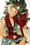 härlig jul 1 Arkivbilder