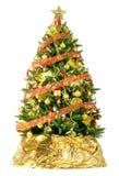 Härlig julgran arkivfoto