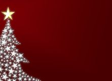 härlig jultree Arkivfoto