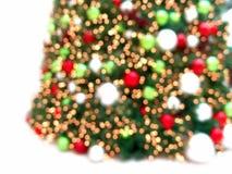 härlig jultree för abstrakt bakgrund Arkivfoton