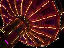 Härlig karusell på Oktoberfesten i Munich Fotografering för Bildbyråer