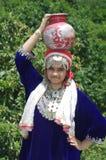 Härlig Kashmiri Girl-2 Arkivfoto