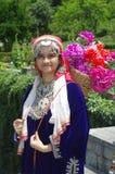Härlig Kashmiri Girl-5 Arkivbild