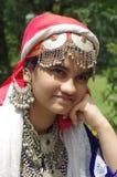 Härlig Kashmiri Girl-6 Arkivfoton