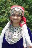 Härlig Kashmiri Girl-8 Royaltyfri Bild