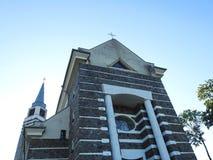 Härlig katolsk kyrka, Litauen royaltyfri foto