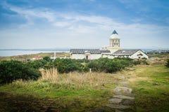 Härlig katolsk kyrka på Seopjikoji Fotografering för Bildbyråer