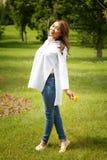 Härlig kazakhkvinna Royaltyfria Bilder