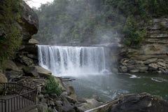 härlig kentucky för falls för cumberland exponeringsfall liggande long Royaltyfria Foton