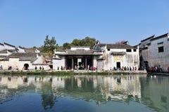 Härlig kinesisk by Royaltyfria Bilder