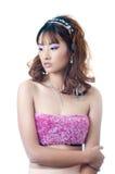 härlig kinesisk modell Royaltyfria Foton