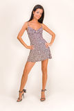 härlig klänningflicka royaltyfria bilder