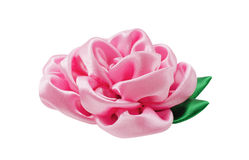 Härlig konstgjord blomma av handwork royaltyfria foton