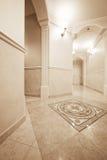 Härlig korridor royaltyfria foton
