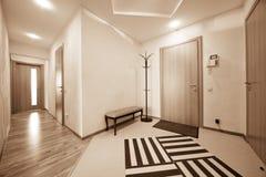 Härlig korridor royaltyfri fotografi
