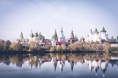 Härlig Kreml till Izmailovo Arkivfoton
