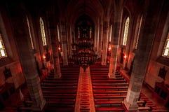 Härlig kristenkyrka Royaltyfria Bilder