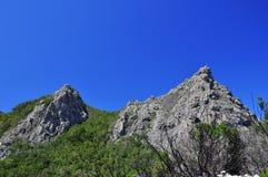 Härlig kulle två Arkivbilder